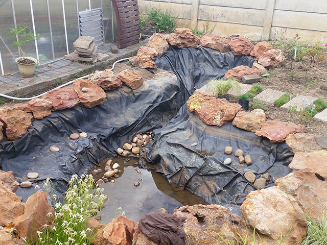 Pond liners tata ma tarps and linings for Fish suitable for small pond